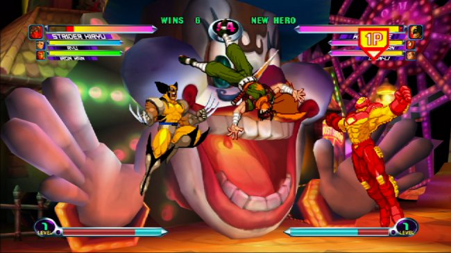 Marvel vs Capcom 2 Screenshot