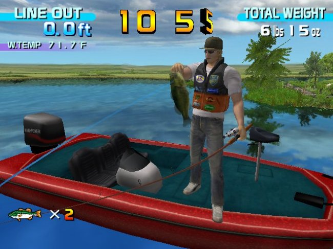 SEGA Bass Fishing Wii screenshots