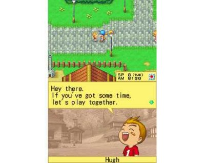 Harvest Moon DS Screenshot