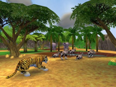 Screen Shot for Zoo Tycoon 2
