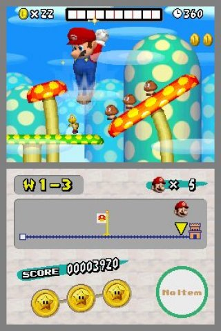 NEW Super Mario Bros.® screenshots