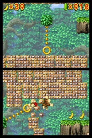 DK : King of Swing DS screenshots