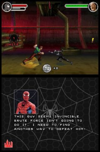 Spider-Man 3 Nintendo DS screenshots