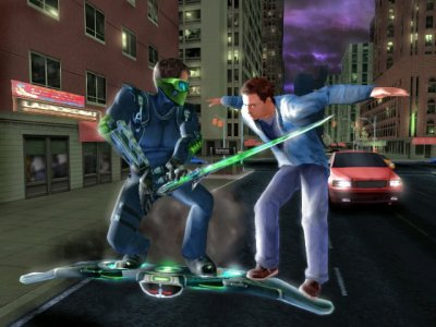 Spider-Man 3 Wii screenshots