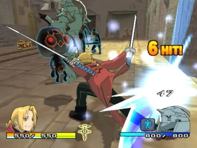 Fullmetal Alchemist 2: Curse of the Crimson Elixir - PS2 ...