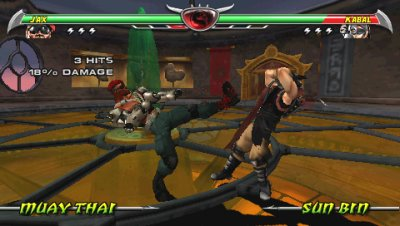 Mortal Kombat®: Unchained PSP screenshots