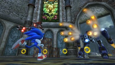 Sonic The Hedgehog PlayStation 3 screenshots