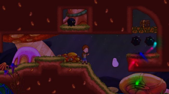 a boy and his blob Wii screenshots