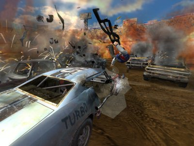 FlatOut 2 PS2 screenshots