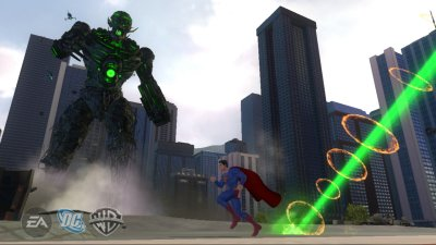 Superman Returns: The Videogame Xbox 360 screenshots