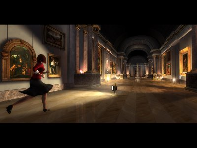 The Da Vinci Code PS2 screenshots