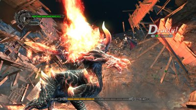 Devil May Cry 4 PlayStation 3 screenshots