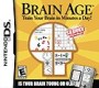 Brain Age: Train Your Brain in Minutes a Day - NDS Boxart