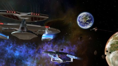 Star Trek: Legacy screenshots