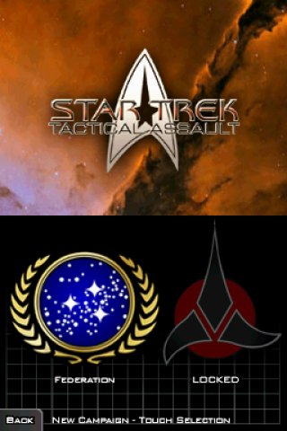 Star Trek: Tactical Assault Nintendo DS screenshots