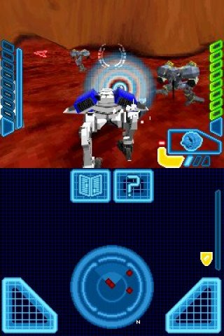 MechAssault: Phantom War Nintendo DS screenshots