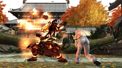 Tekken 5: Dark Resurrection PlayStation 3 screenshots
