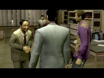 Yakuza PS2 screenshots