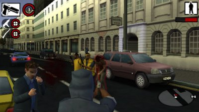 Gangs of London PSP screenshots