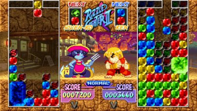 Capcom Puzzle World PSP screenshots