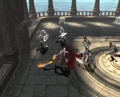 God of War II PS2 screenshots