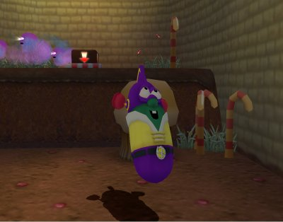 LarryBoy and the Bad Apple PS2 screenshots