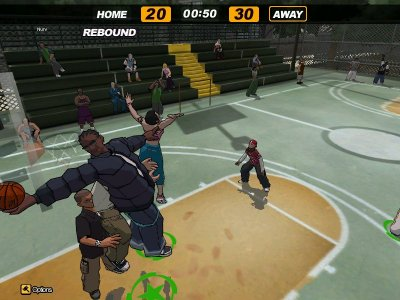 FreeStyle Street Basketball screenshots