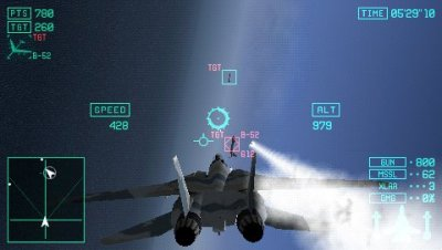 Ace Combat X: Skies of Deception PSP screenshots