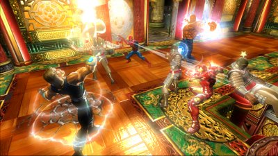 Marvel: Ultimate Alliance Xbox 360 screenshots