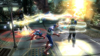Marvel: Ultimate Alliance PlayStation 3 screenshots
