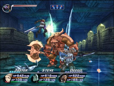 Rogue Galaxy PS2 screenshots