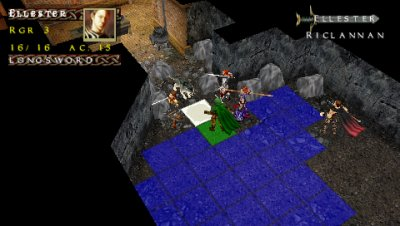 D&D Tactics PSP screenshots