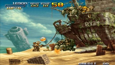 METAL SLUG ANTHOLOGY screenshots