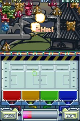 Monster Bomber Nintendo DS screenshots