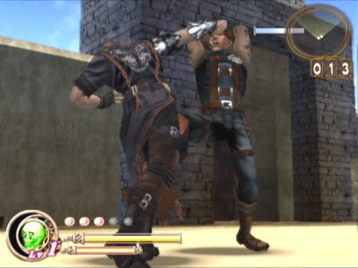 God Hand PS2 screenshots