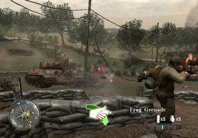 Call of Duty 3 Wii screenshots