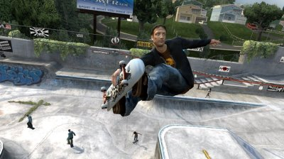 Tony Hawk's Project 8 Xbox 360 screenshots