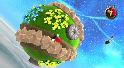 Super Mario Galaxy Wii screenshots