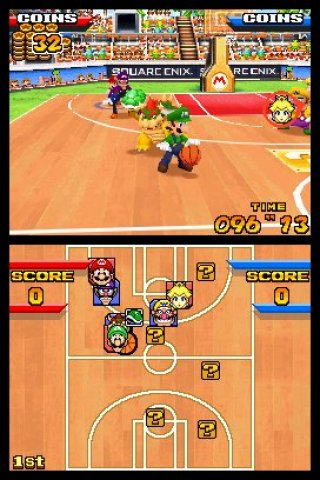Mario™ Hoops 3-on-3 Nintendo DS screenshots