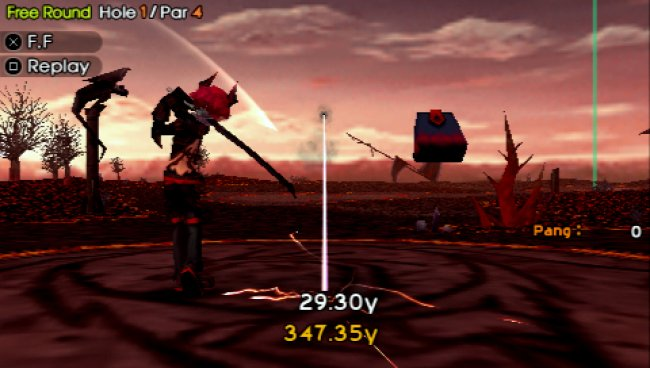 PANGYA: Fantasy Golf PSP screenshots