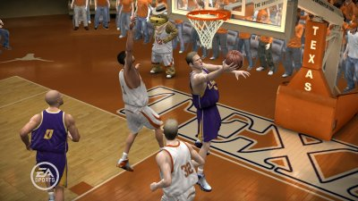 NCAA March Madness 07 Xbox 360 screenshots