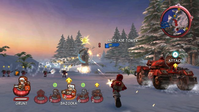 Battalion Wars II Wii screenshots