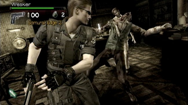 Resident Evil: The Umbrella Chronicles Wii screenshots