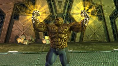 Fantastic 4: Rise of the Silver Surfer GameCube screenshots