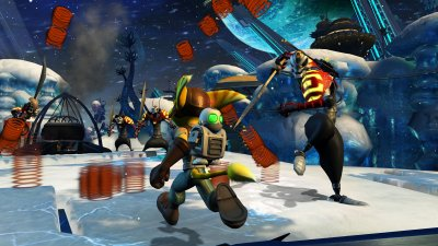 Ratchet &amp; Clank Future: Tools of Destruction PlayStation 3 screenshots