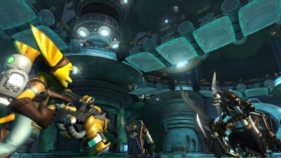 Ratchet & Clank Future: Tools of Destruction PlayStation 3 screenshots