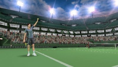Smash Court Tennis 3 PSP screenshots