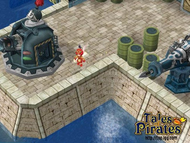 Tales of Pirates PC screenshots
