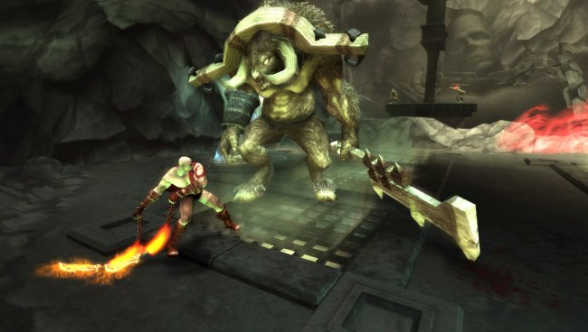 God of War: Chains of Olympus PSP screenshots