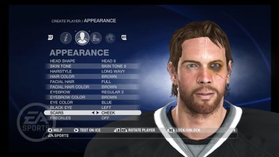 NHL 08 PlayStation 3 screenshots